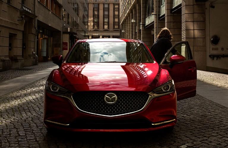 2020 Mazda6 front profile