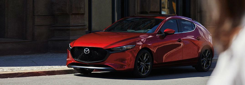 2020 Mazda3 Hatchback front and side profile