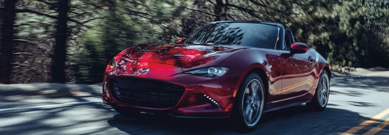 2020 Mazda MX-5 Miata front and side profile