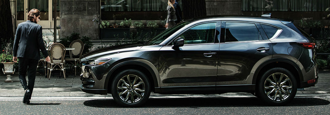 2020 MAzda CX-5 parked on a street