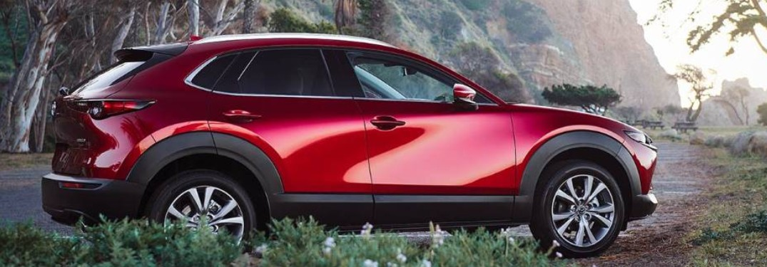2021 Mazda CX-30 crossover is available in 7 exterior paint color options