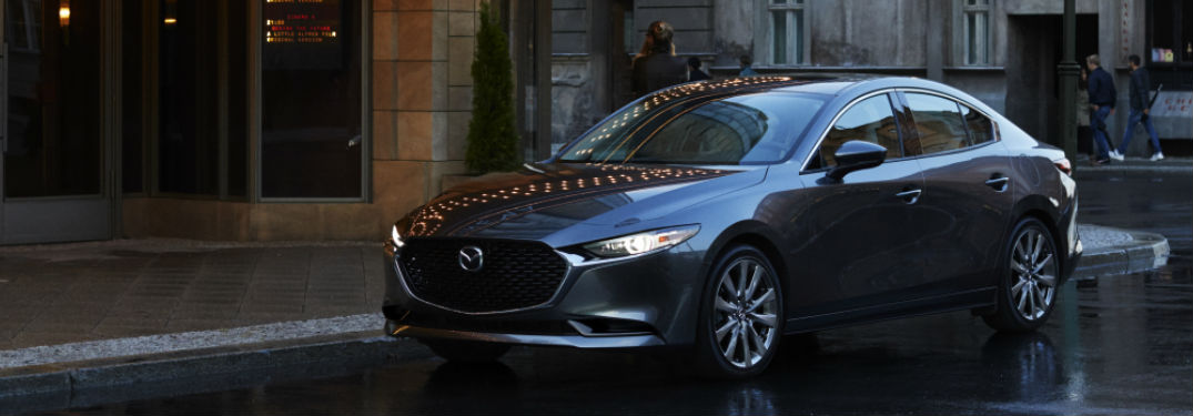 2021 Mazda3 Sedan is available in 6 exterior paint color options
