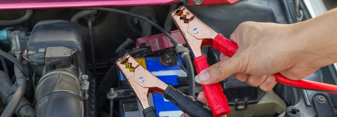 jumping the battery / charging car battery