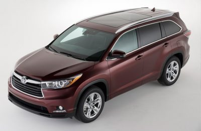2014 Toyota Highlander Parked In A White Room Finding The Right Low Gas  Mileage Vehicle