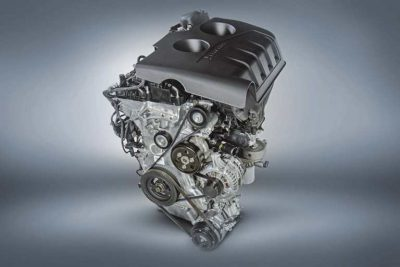 Image of an engine from a 2018 Ford Explorer