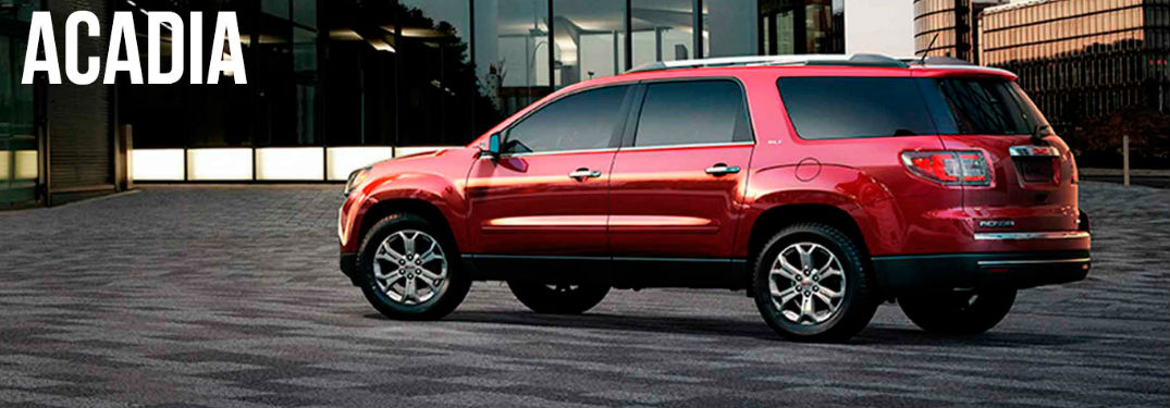 GMC Acadia side profile
