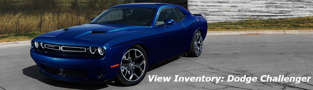 Dodge Challenger front and side profile