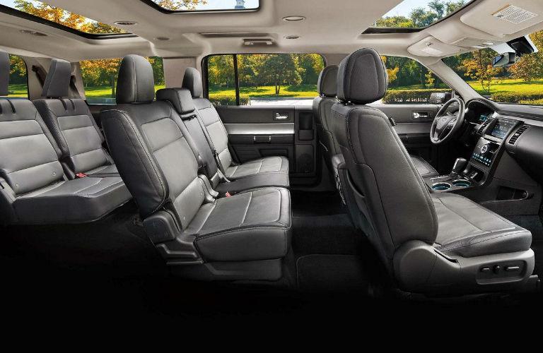 Ford Flex Interior Passenger Seats