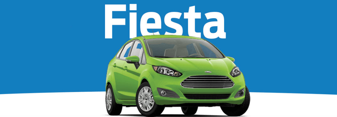 Ford Fiesta front profile