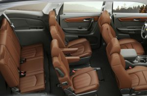 Chevy Traverse Passenger seats