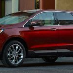 Ford Edge Parked Showing Side Profile