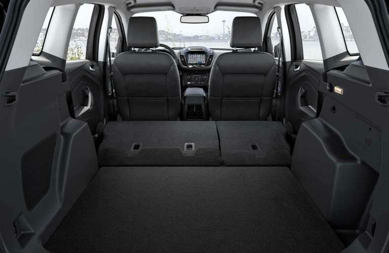Ford Escape Crossover Suv Offers Impressive Amounts Of Passenger And Cargo Space Thanks To Innovative Interior Design Ford Escape Interior Cargo Space