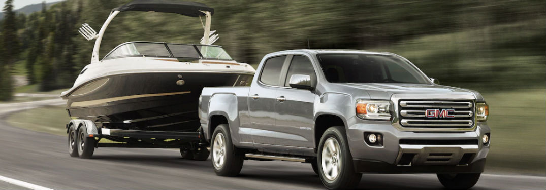 Impressive Towing Capacity Of Gmc Canyon Comes From Powerful Engine