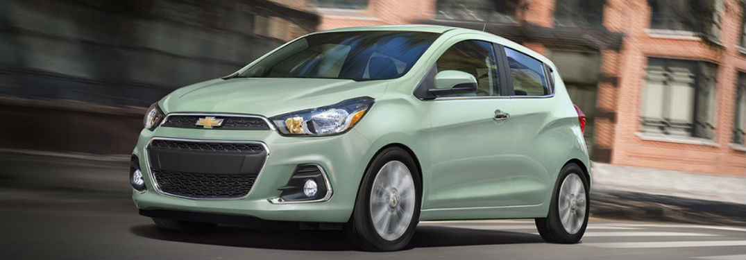 What is the Fuel Economy Rating of the Chevy Spark?