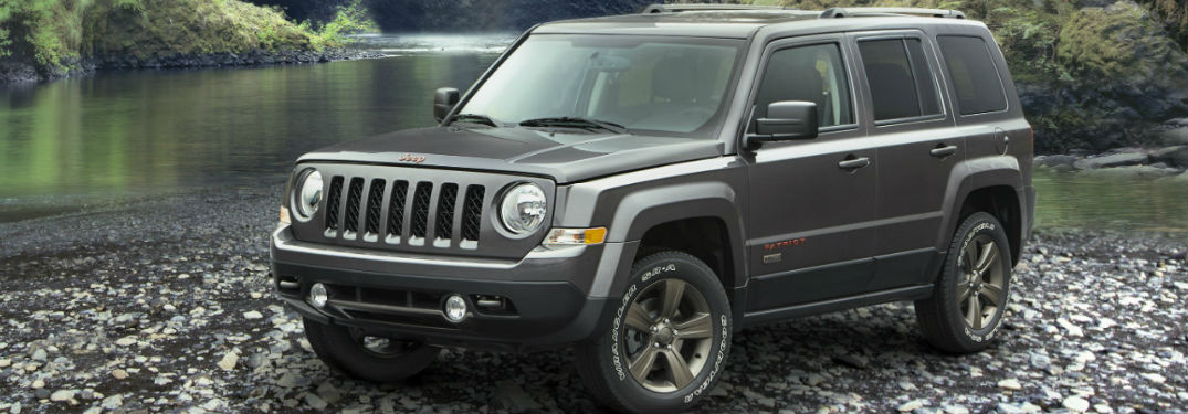 Jeep Patriot front and side profile