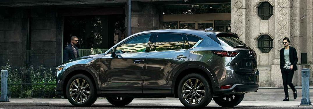 Mazda CX-5 parked on a street