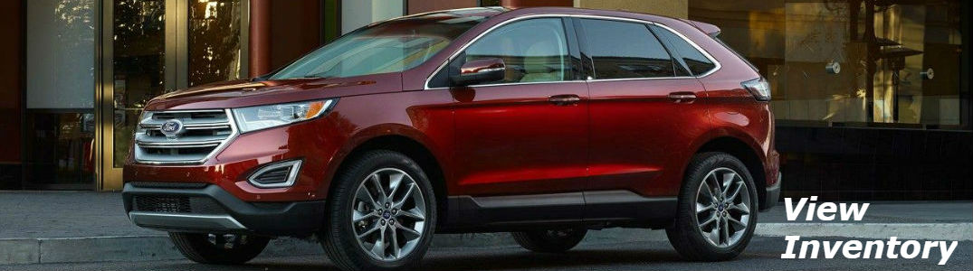 Ford Edge parked on a street