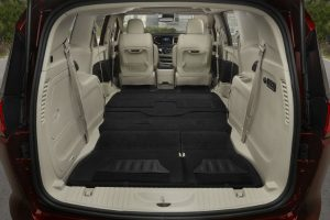 Chrysler Pacifica rear cargo area