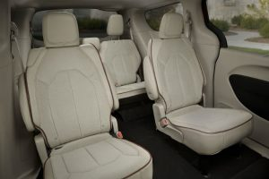 Chrysler Pacifica interior passenger seats