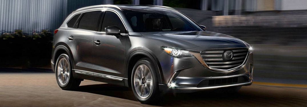 Mazda CX-9 front and side profile