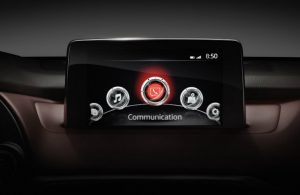 Mazda CX-9 touchscreen infotainment system