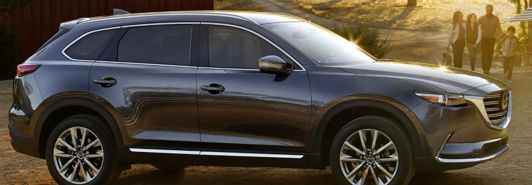 Impressive amount of both passenger and cargo space found inside of Mazda CX-9 crossover SUV