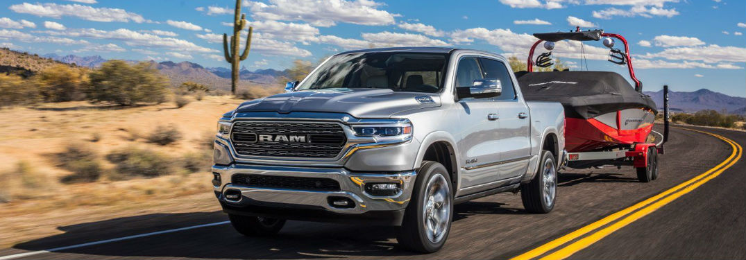 Power and capability found in the Ram 1500 Classic pickup truck