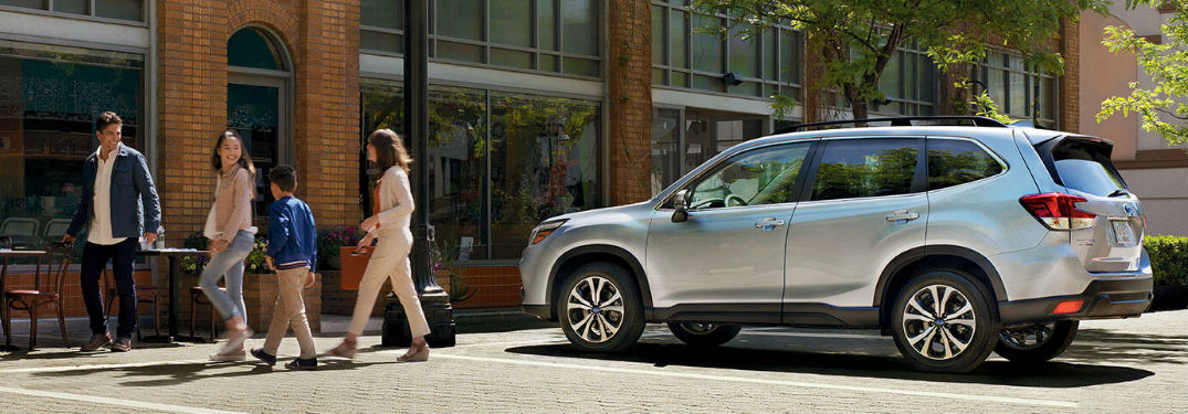 Subaru Forester provides the passenger and cargo space a driver needs