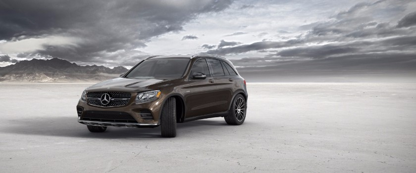 2017 Mercedes-Benz GLC dakota brown metallic