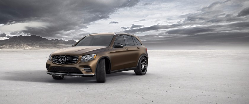 2017 Mercedes-Benz GLC designo brown magno