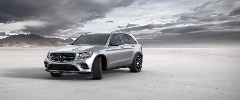 2017 Mercedes Benz GLC iridium silver metallic