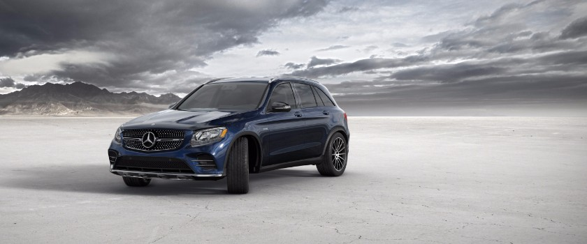 2017 Mercedes-Benz GLC lunar blue metallic