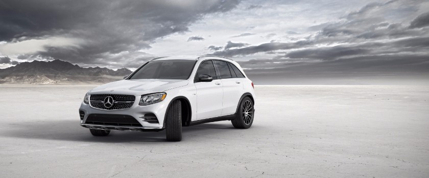 2017 Mercedes-Benz GLC polar white