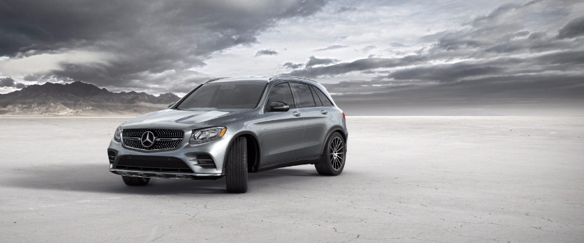 2017 Mercedes-Benz GLC selenite grey metallic