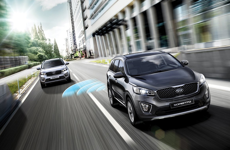 2018 Kia Sorento In Black