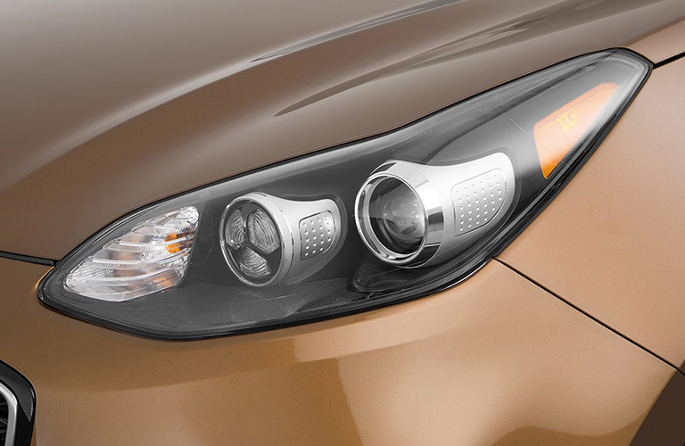 2018 Kia Sportage Headlight In Gold