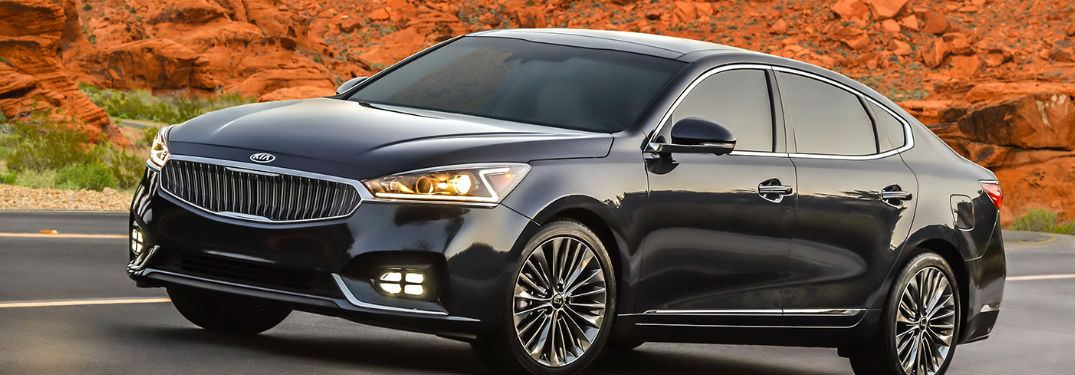 2017 Kia Cadenza Interior Features and Safety Technology