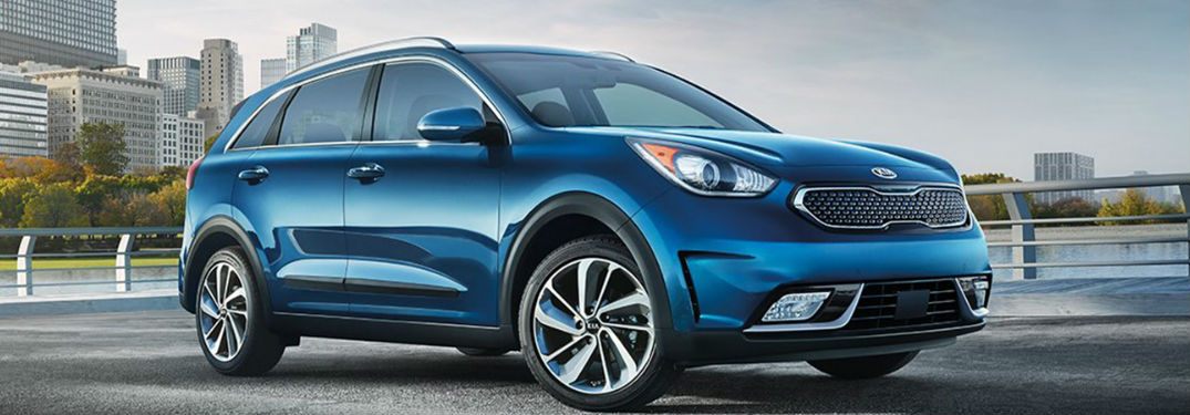 2018 Kia Niro in blue