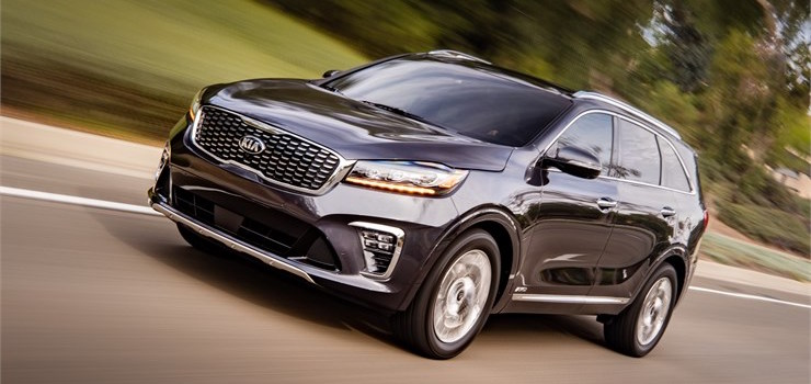 2019 Kia Sorento Sound System Options