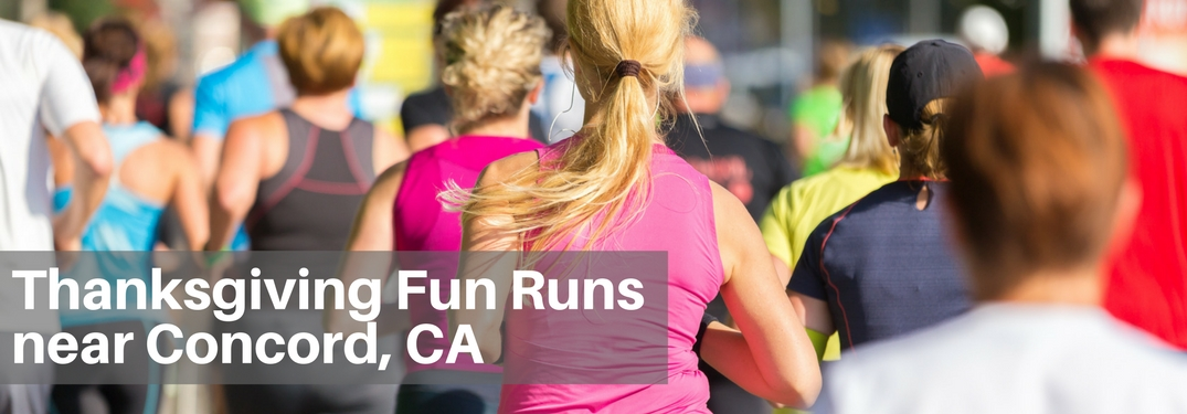 thanksgiving 2017 fun runs concord ca california