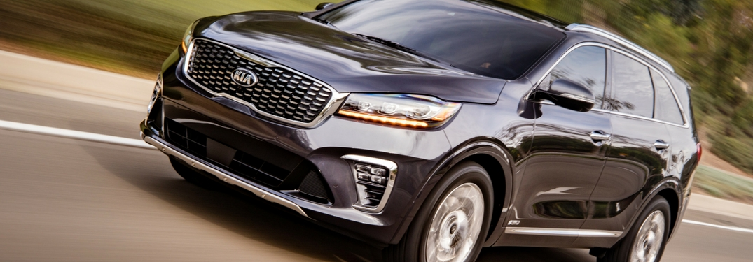 2018 kia sorento up close grille