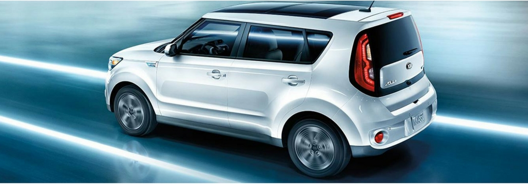 2018 kia soul ev view from above