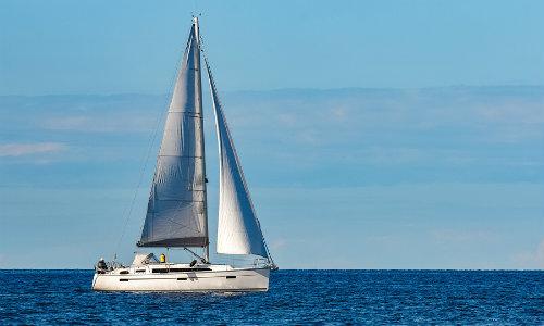 Sailboat at sea during daytime