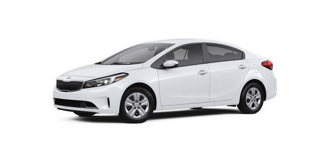 2018 KIa Forte in Clear White