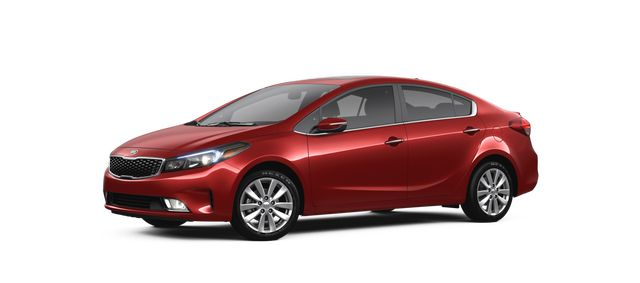 2018 Kia Forte in Currant Red