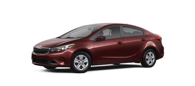 2018 Kia Forte in Garnet Red