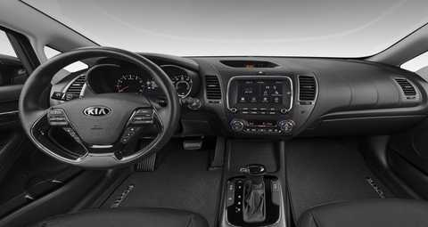 2018 Kia Forte Black Leather Interior