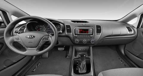 2018 Kia Forte with Gray Woven Cloth Interior