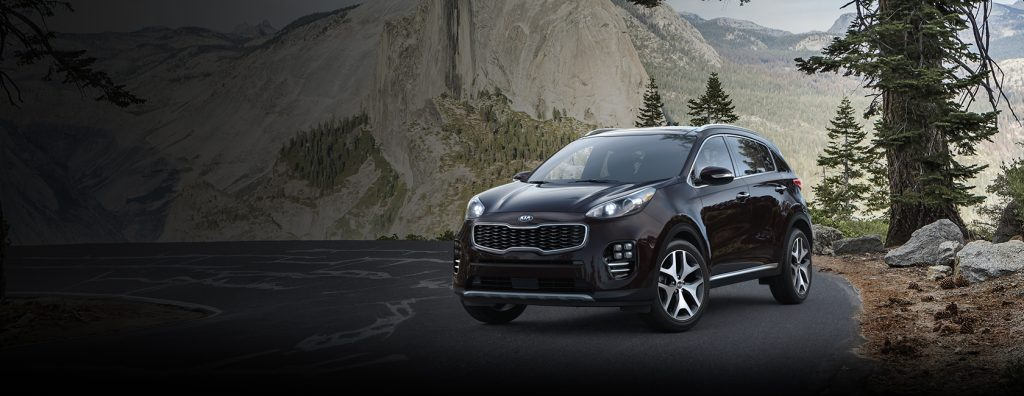 2018 Kia Sportage in Black Cherry