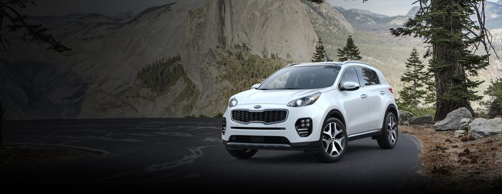 2018 Kia Sportage in Snow White Pearl